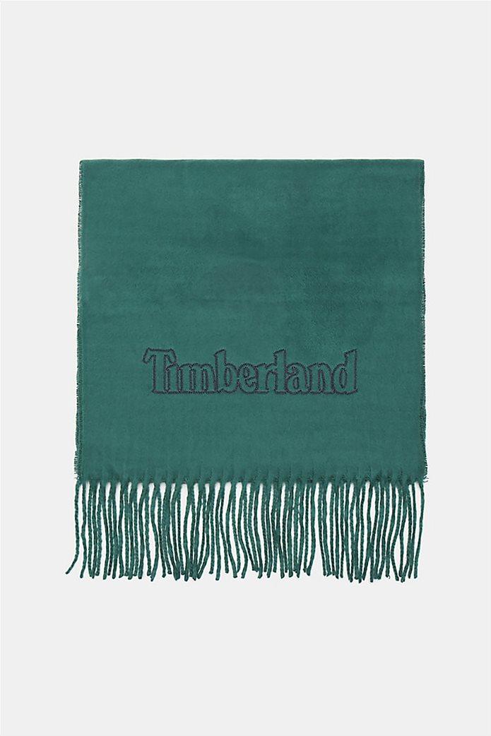 Timberland unisex κασκόλ με κρόσια 0