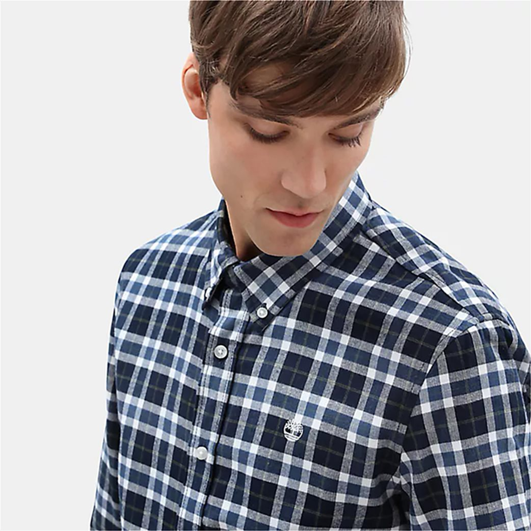 Timberland ανδρικό πουκάμισο καρό Back River 1