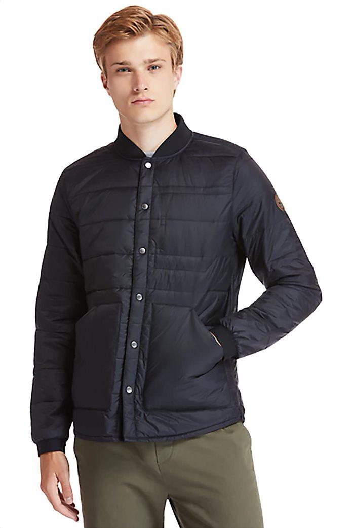 Timberland ανδρικό bomber jacket καπιτονέ με ribbed λεπτομέρειες ''Mount Redington'' Μαύρο 0