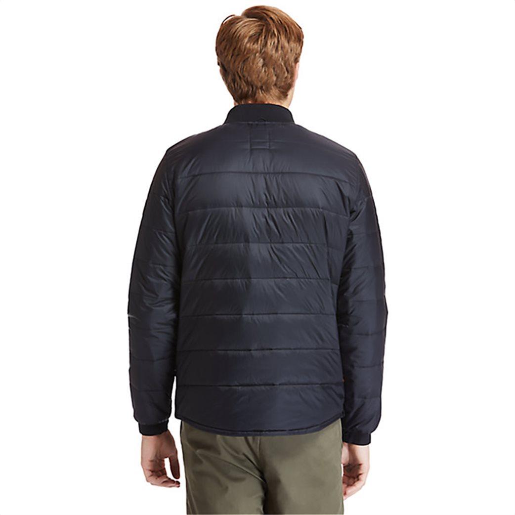 Timberland ανδρικό bomber jacket καπιτονέ με ribbed λεπτομέρειες ''Mount Redington'' Μαύρο 3