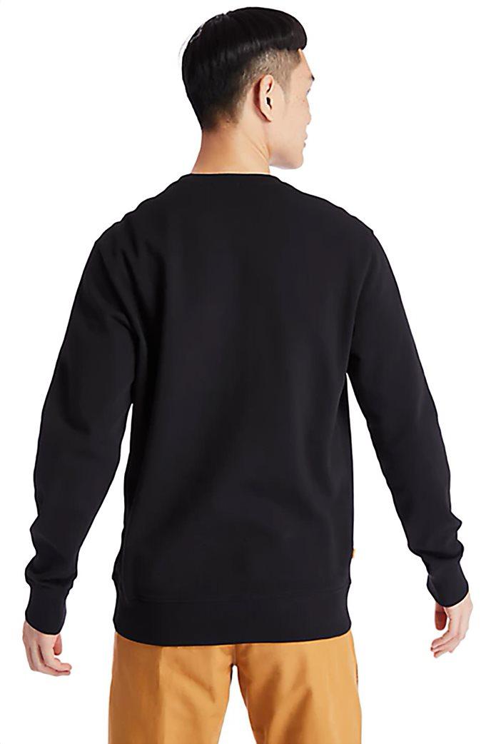 Timberland ανδρική φούτερ μπλούζα με logo print Μαύρο 3