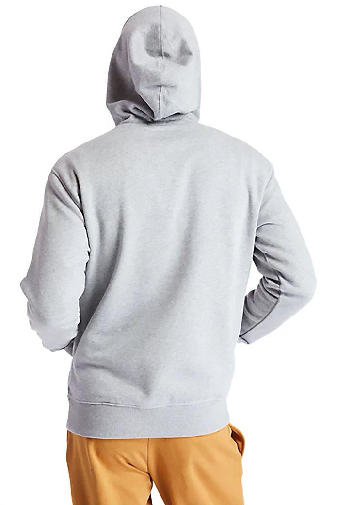 Timberland ανδρική φούτερ μπλούζα με logo print Γκρι 3