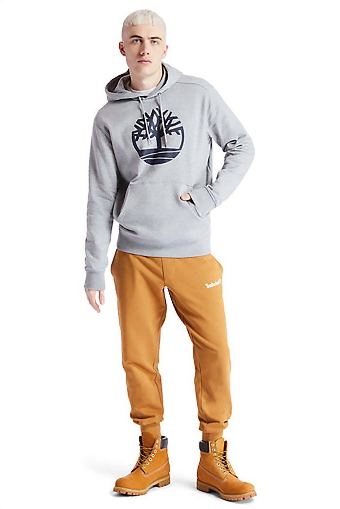 Timberland ανδρική φούτερ μπλούζα με logo print Γκρι 4