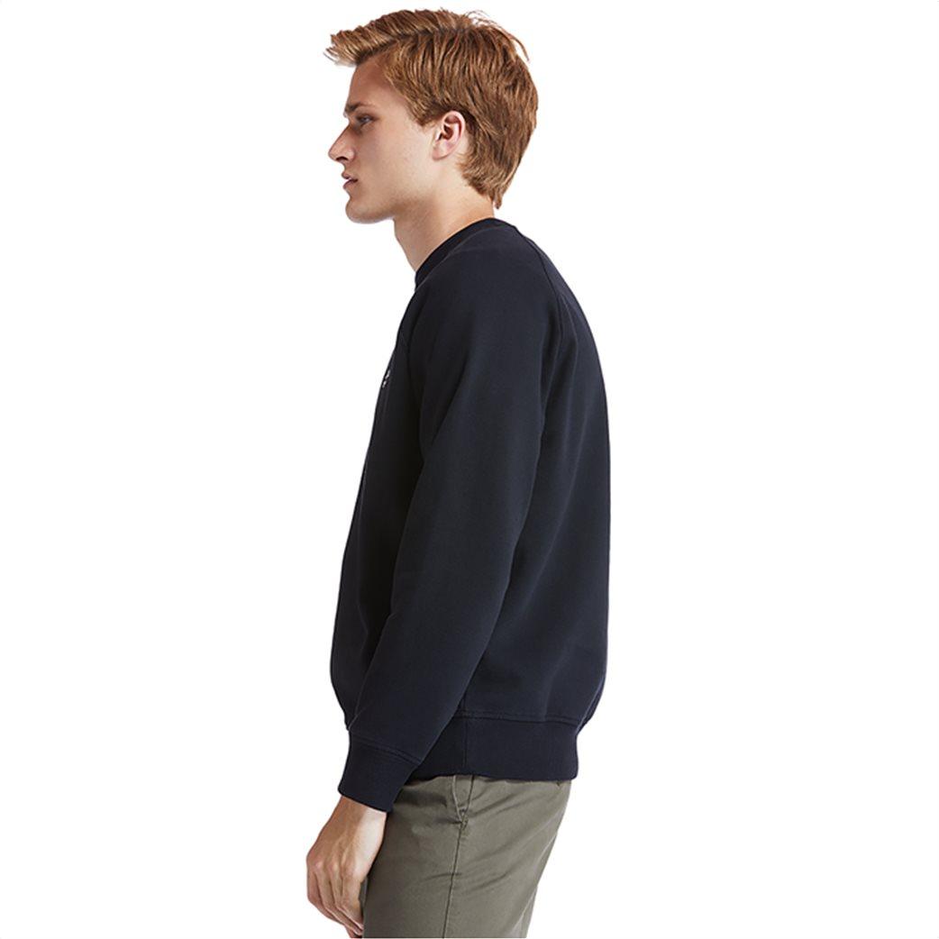 Timberland ανδρική φούτερ μπλούζα μονόχρωμη ''Exeter River'' Μαύρο 2