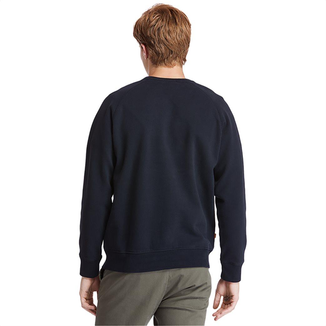 Timberland ανδρική φούτερ μπλούζα μονόχρωμη ''Exeter River'' Μαύρο 3