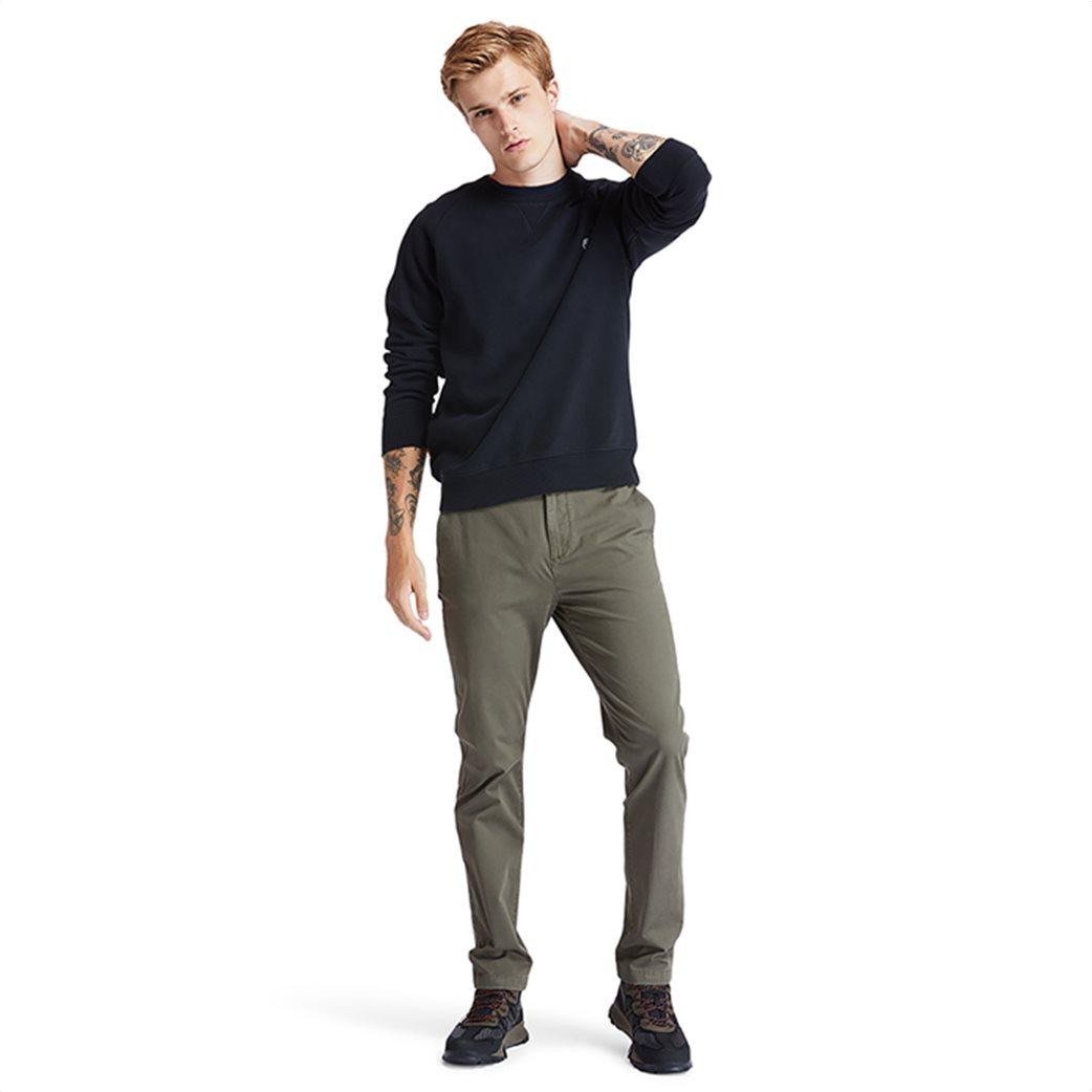 Timberland ανδρική φούτερ μπλούζα μονόχρωμη ''Exeter River'' Μαύρο 4