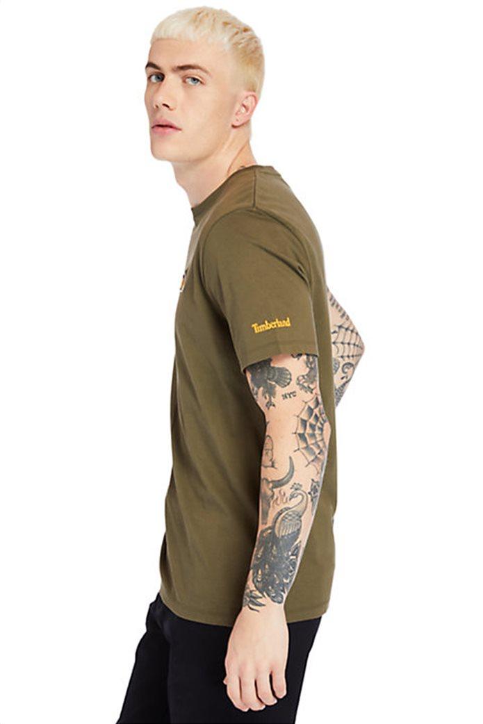 Timberland ανδρικό T-shirt ''Boot Logo'' Χακί 3