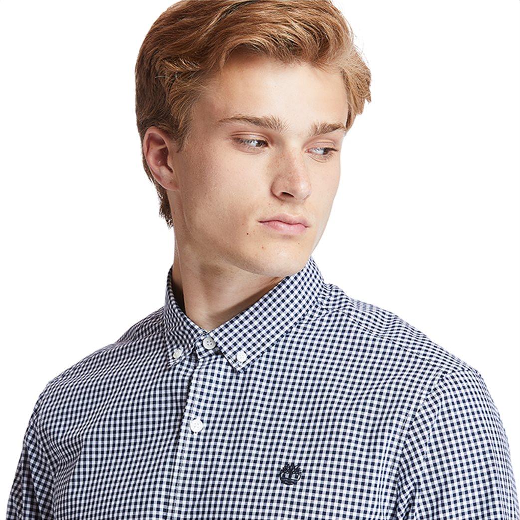 Timberland ανδρικό πουκάμισο με καρό σχέδιο ''Suncook River'' Μπλε Σκούρο 1