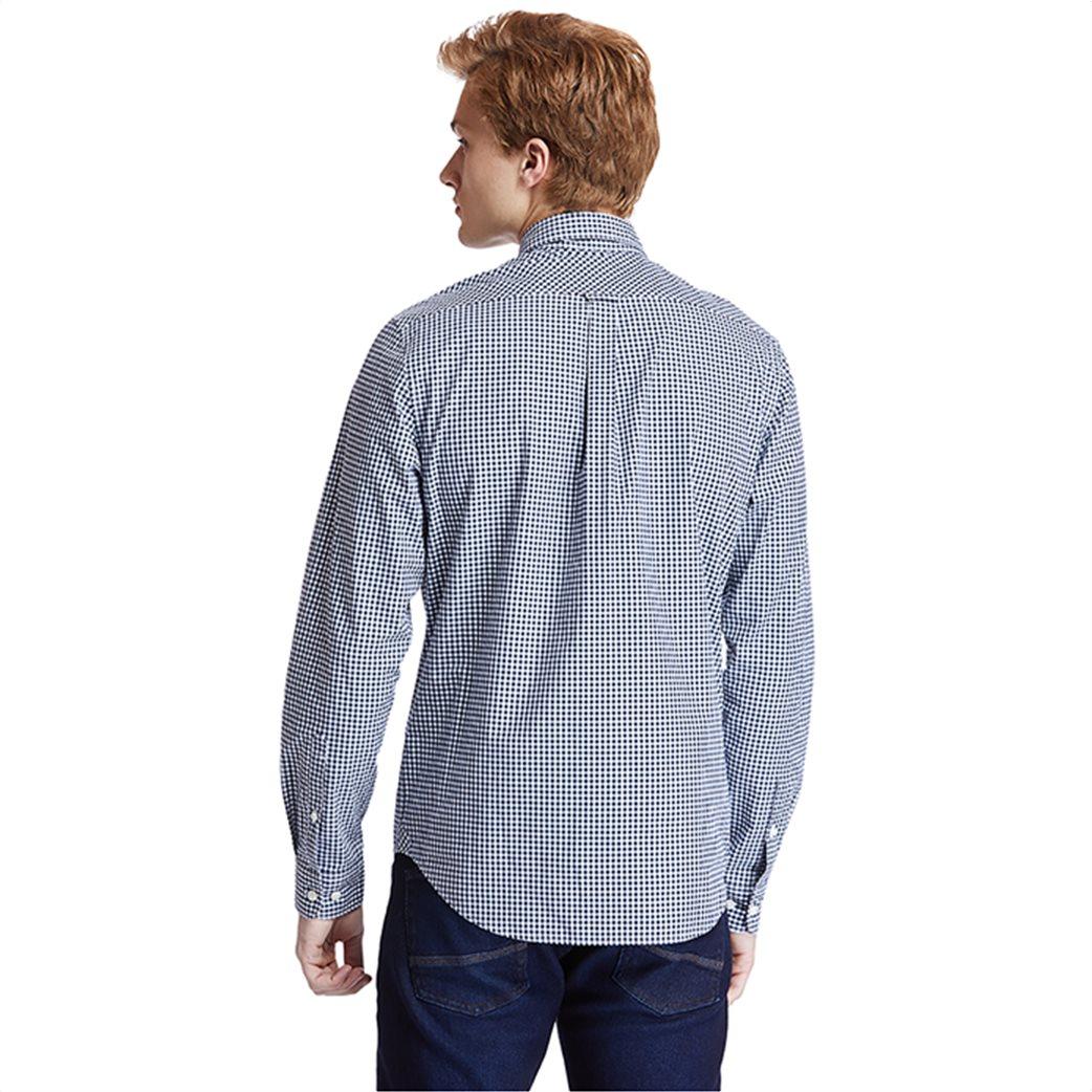 Timberland ανδρικό πουκάμισο με καρό σχέδιο ''Suncook River'' Μπλε Σκούρο 3
