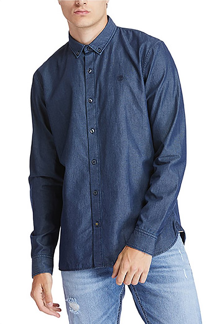 Timberland ανδρικό denim πουκάμισο Slim Fit ''Chamb classic'' Μπλε 0
