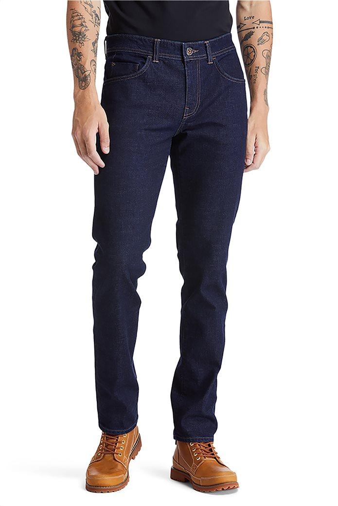 Timberland ανδρικό τζην παντελόνι Slim Fit ''Sargent Lake'' Μπλε Σκούρο 1