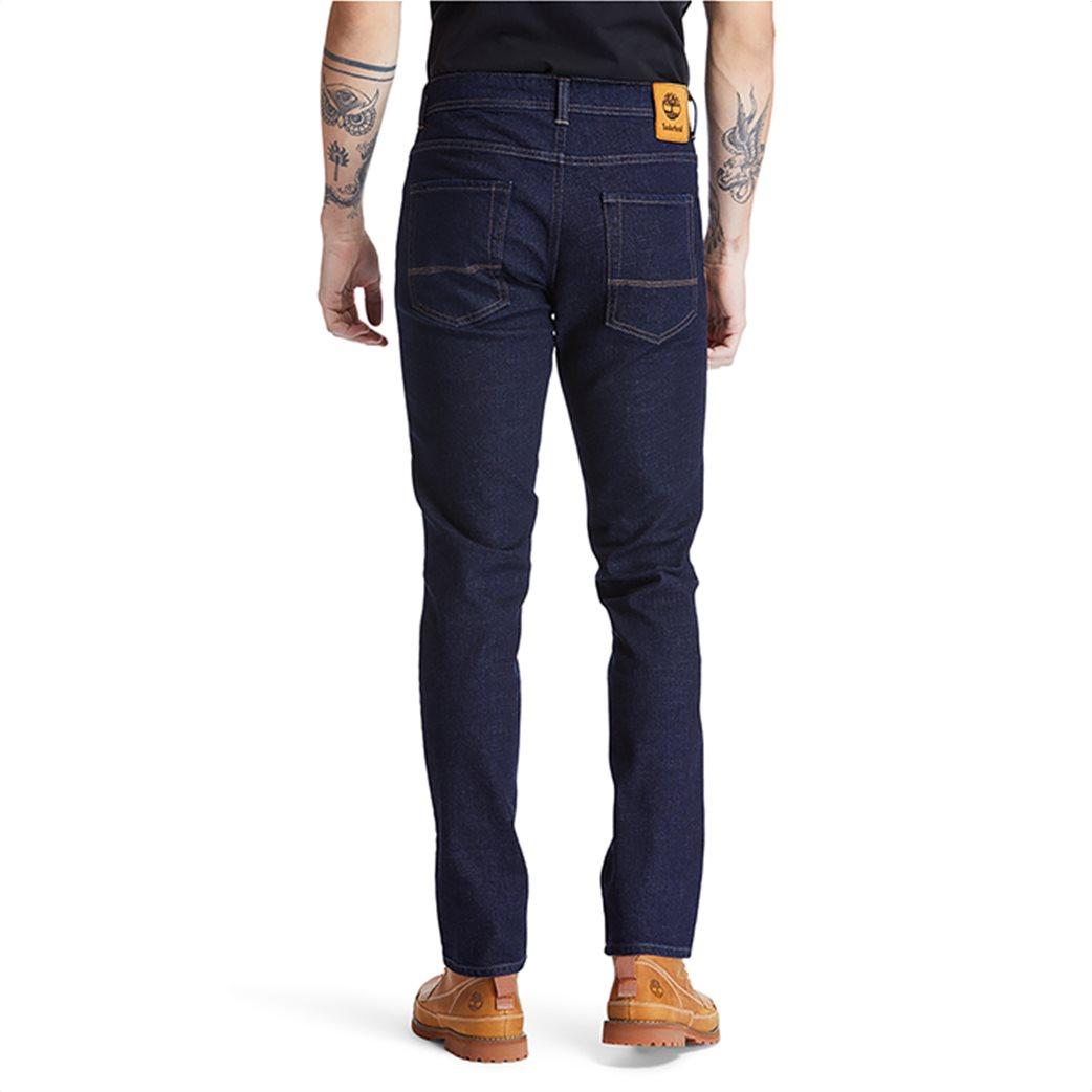 Timberland ανδρικό τζην παντελόνι Slim Fit ''Sargent Lake'' Μπλε Σκούρο 3