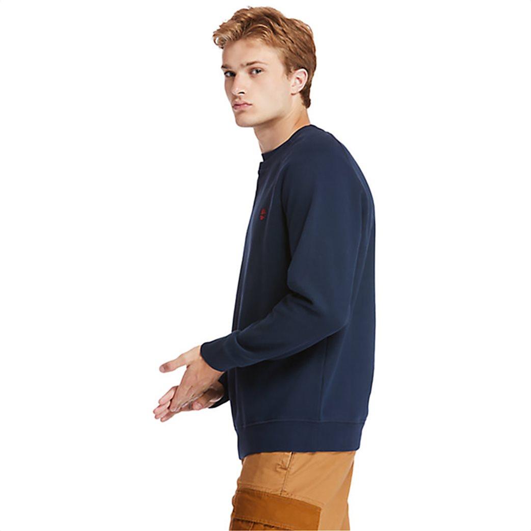 Timberland ανδρική φούτερ μπλούζα μονόχρωμη ''Exeter River'' Μπλε Σκούρο 1
