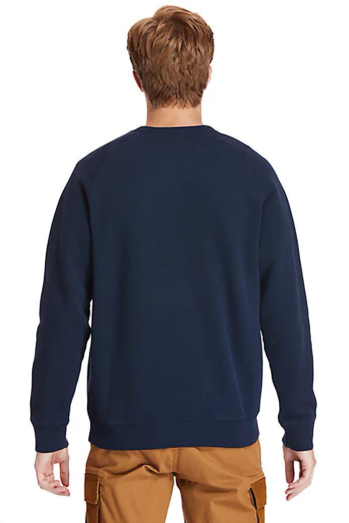 Timberland ανδρική φούτερ μπλούζα μονόχρωμη ''Exeter River'' Μπλε Σκούρο 2