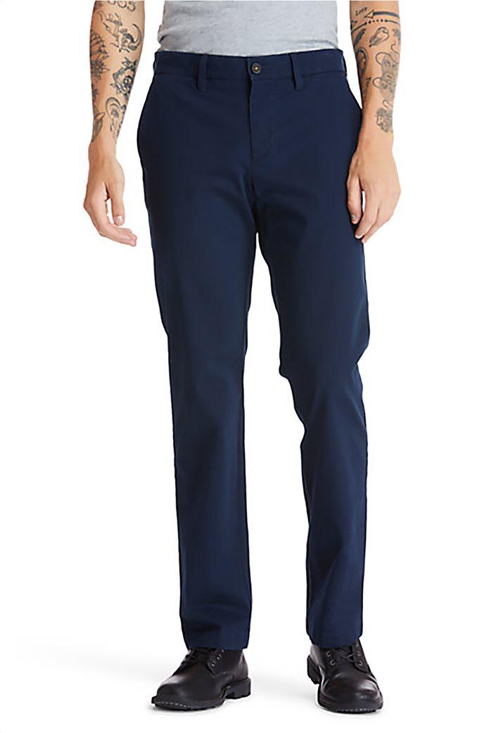 Timberland ανδρική chino παντελόνι μονόχρωμο ''Squam Lake'' Μπλε Σκούρο 1