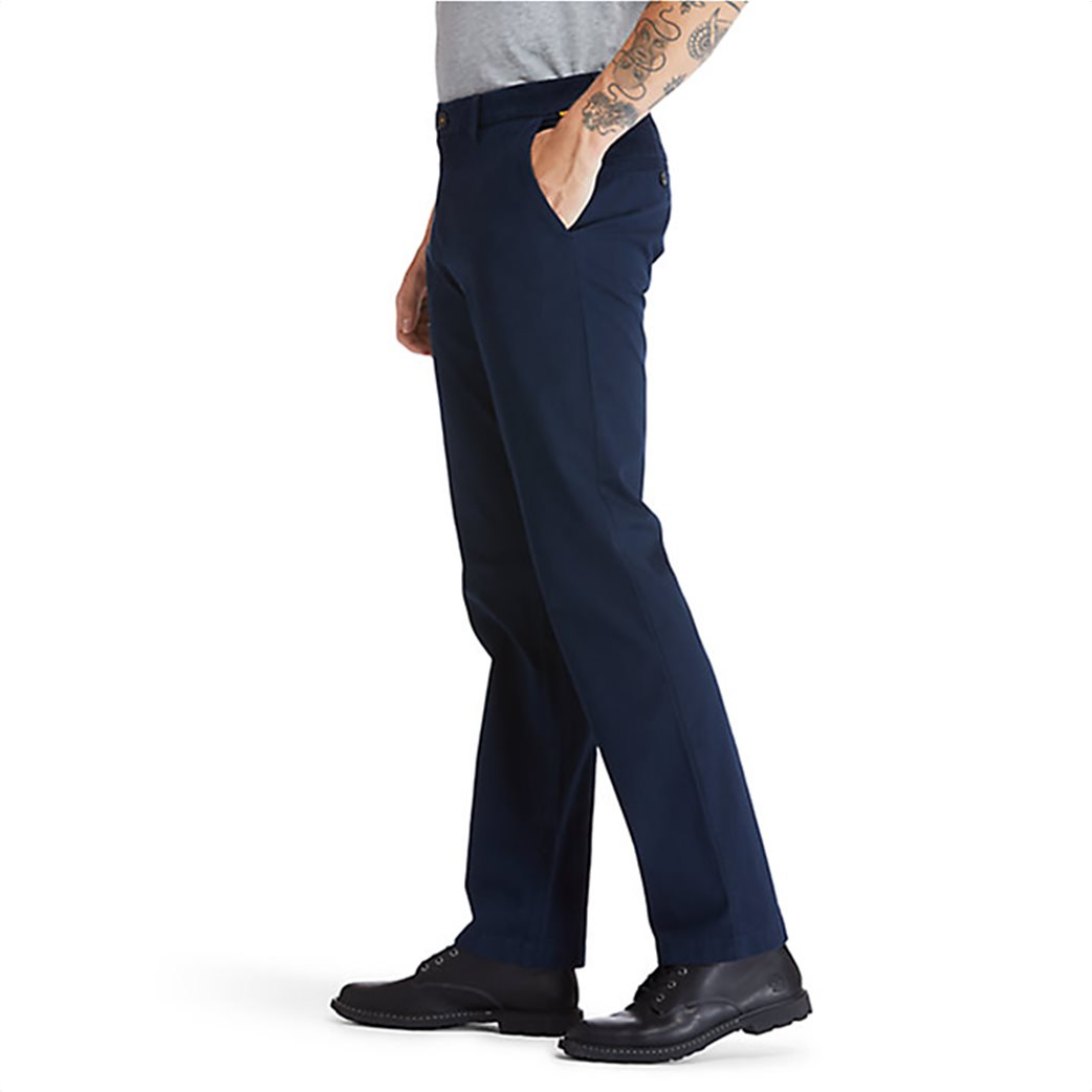 Timberland ανδρική chino παντελόνι μονόχρωμο ''Squam Lake'' Μπλε Σκούρο 2