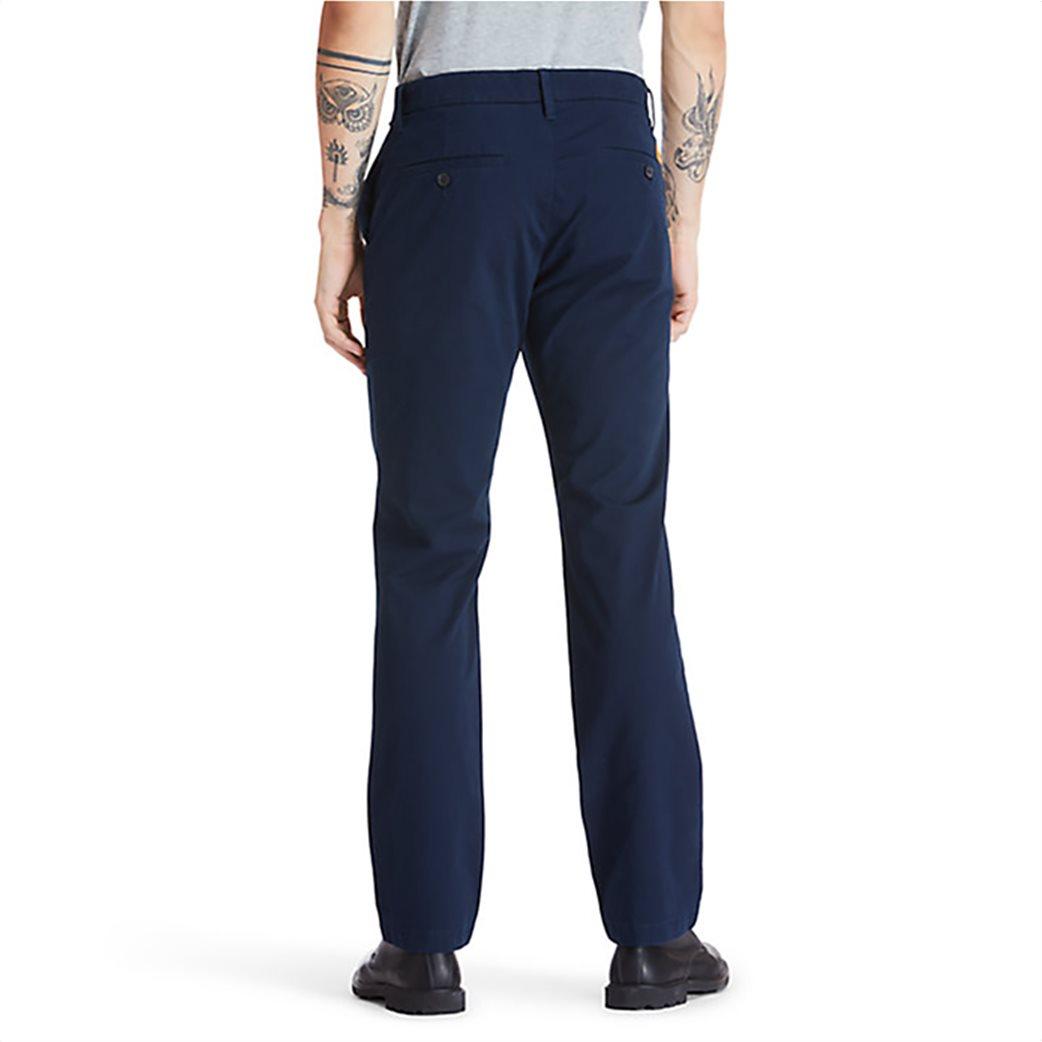 Timberland ανδρική chino παντελόνι μονόχρωμο ''Squam Lake'' Μπλε Σκούρο 3