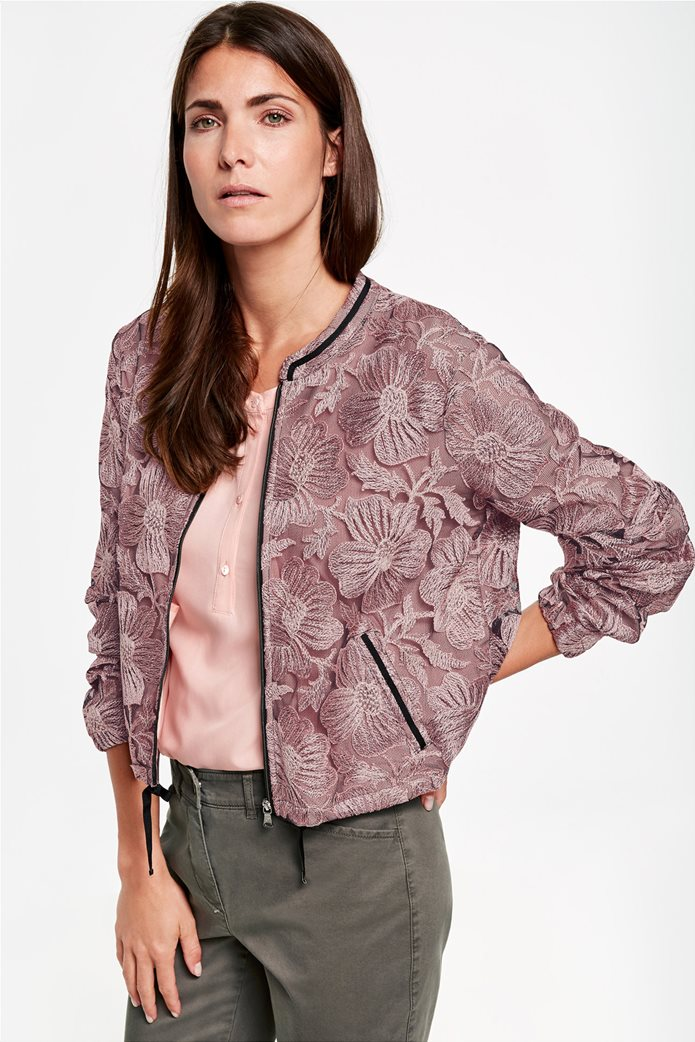 Gerry Weber γυναικείο Bomber jacket δαντέλα 0