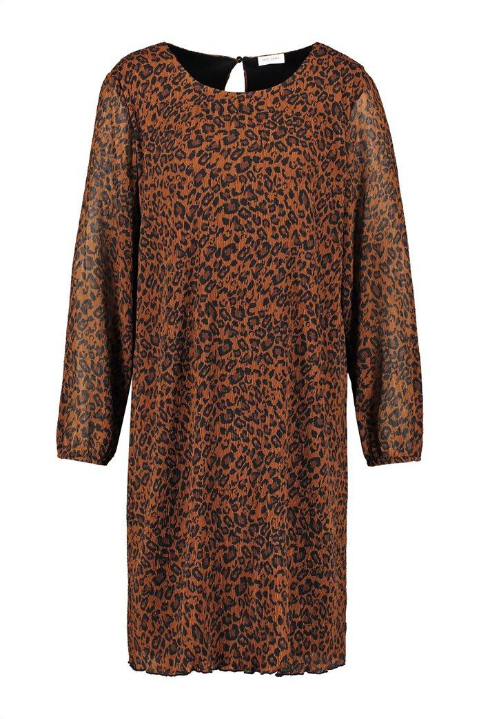 Gerry Weber γυναικείο mini chiffon φόρεμα με leopar print 3