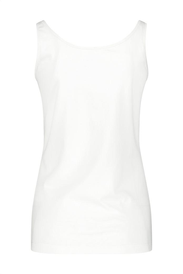 Gerry Weber γυναικεία μπλούζα αμάνικη μονόχρωμη Λευκό 3