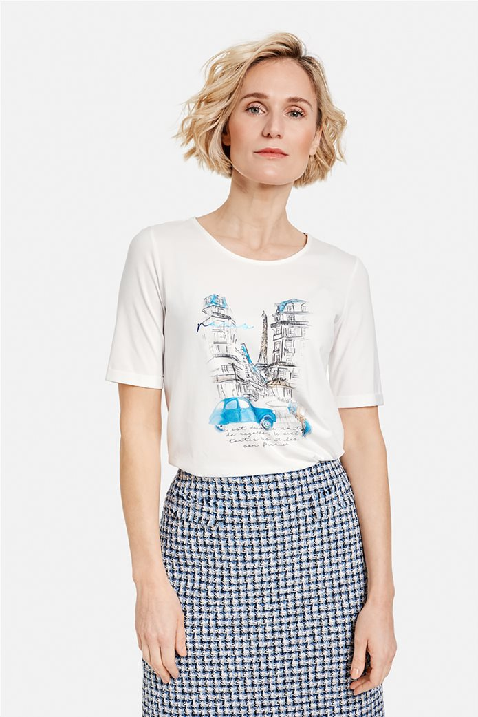 Gerry Weber γυναικείο Τ-Shirt με graphic print 0