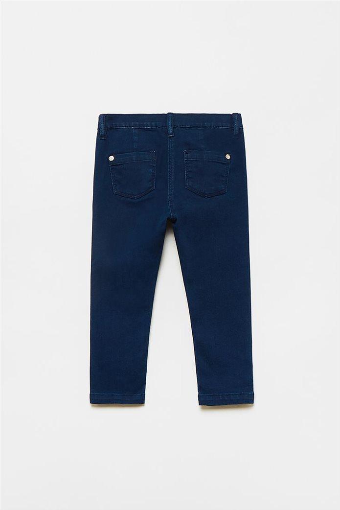 OVS βρεφικό τζην παντελόνι με απλικέ φιόγκους (9-36 μηνών) 1