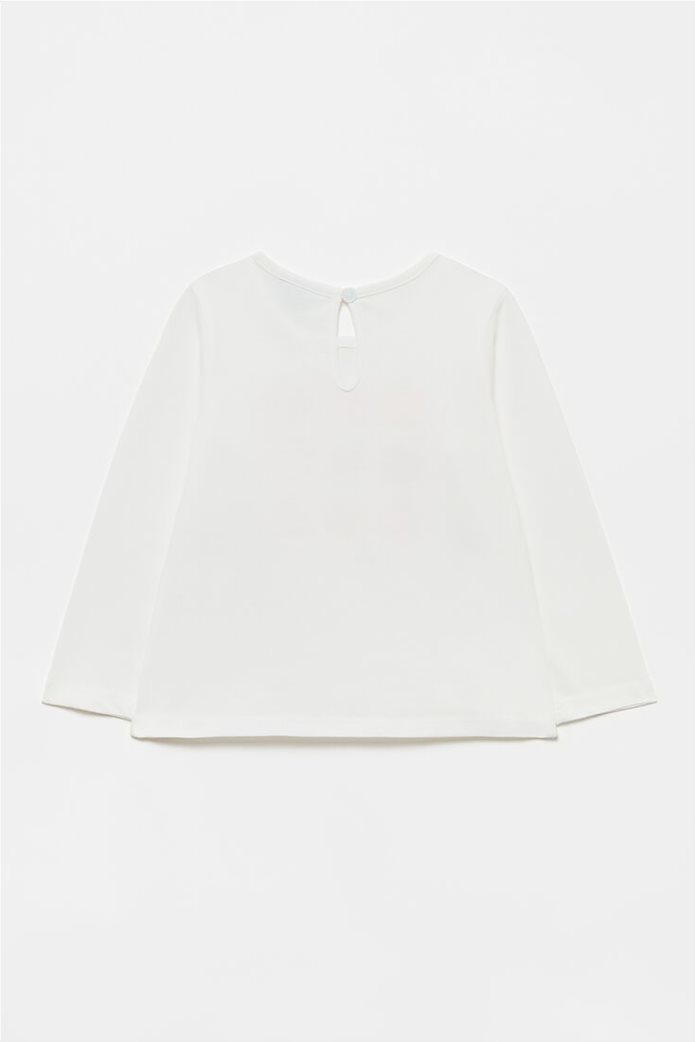 OVS βρεφική μπλούζα με all-over fruit print (9-36 μηνών) 1