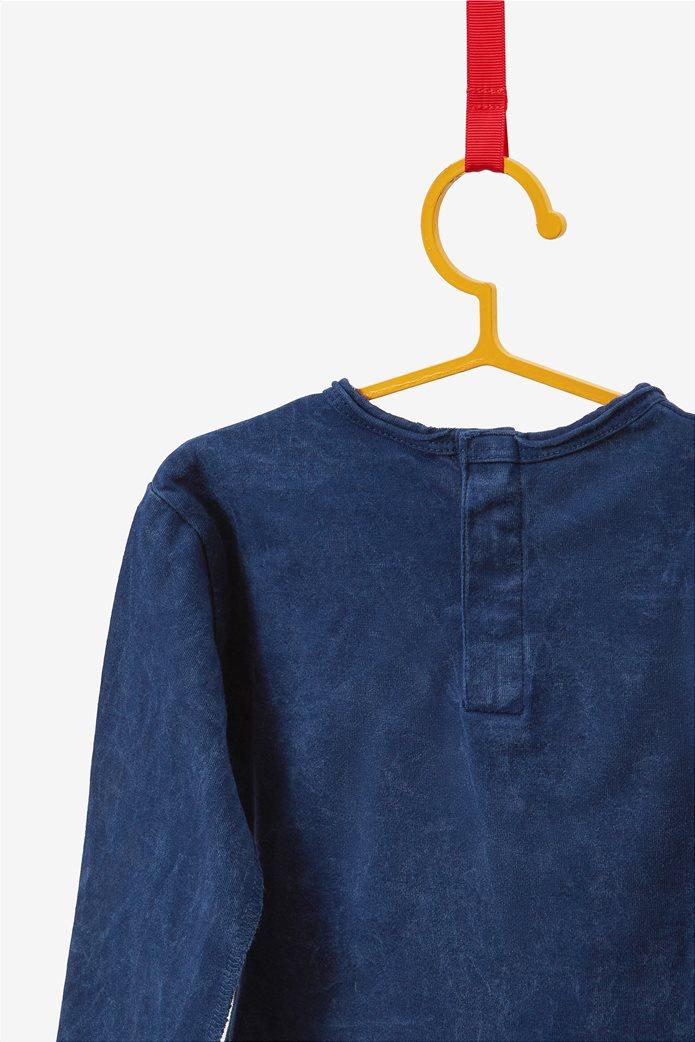 OVS βρεφική μπλούζα με print και patches 1