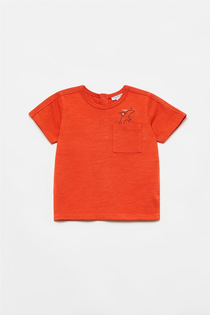 OVS βρεφικό T-shirt με flying dinosaur print (12-36 μηνών) Πορτοκαλί 0