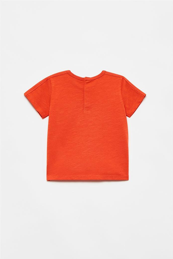 OVS βρεφικό T-shirt με flying dinosaur print (12-36 μηνών) Πορτοκαλί 1