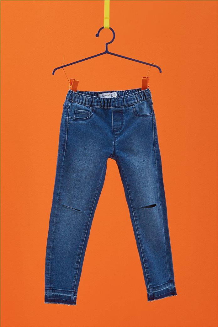 Παιδικό jogger τζην παντελόνι με λάστιχο OVS 0