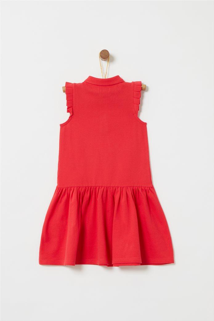 OVS παιδικό αμάνικο φόρεμα με γιακά piquet 1