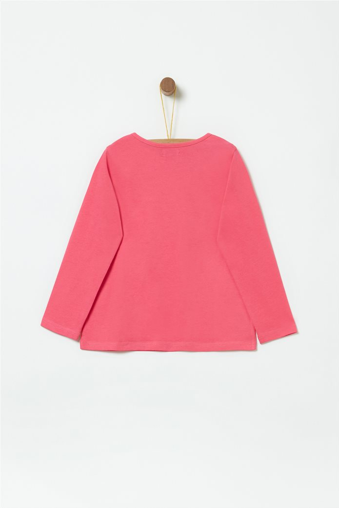 OVS παιδική μακρυμάνικη μπλούζα με pompom 1
