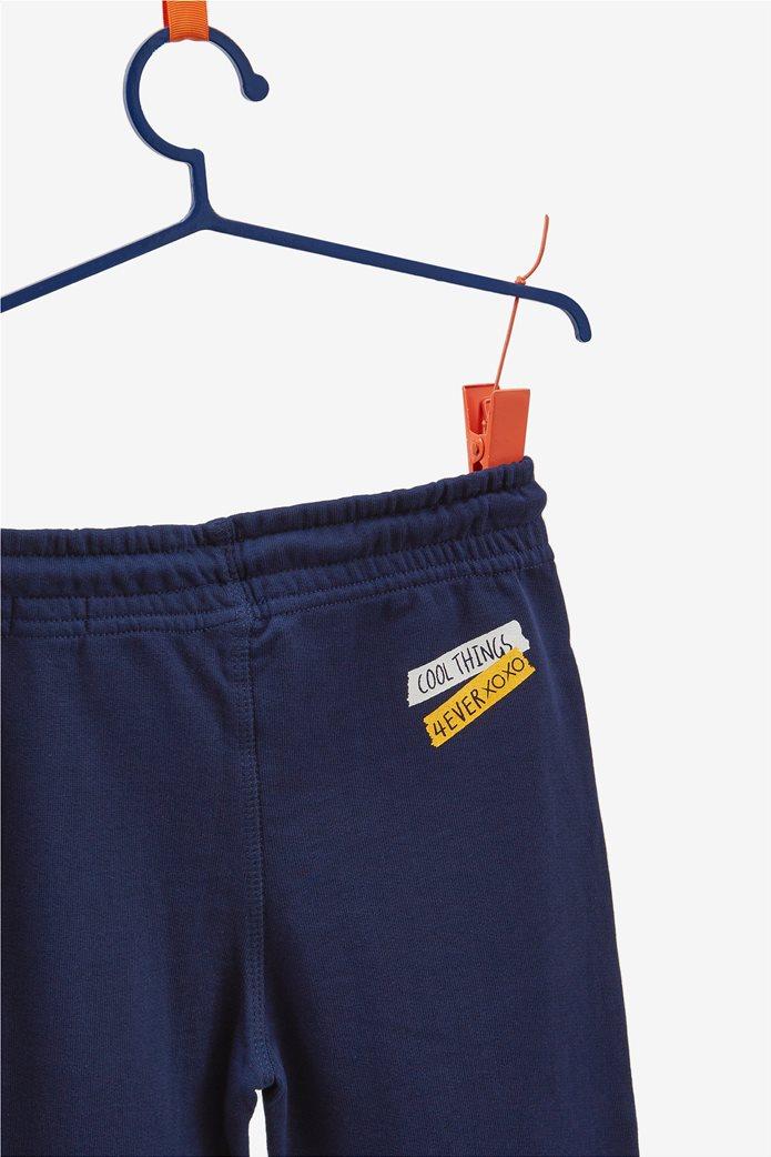 OVS παιδικό παντελόνι φόρμας μονόχρωμο μπλε σκούρο 1