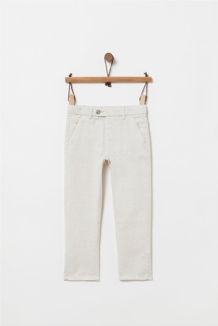 f54567302c4 OVS | OVS παιδικό παντελόνι υφασμάτινο πεντάτσεπο Εκρού | notos