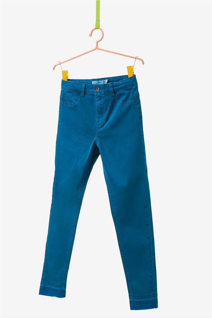 OVS παιδικό παντελόνι μπλε πεντάτσεπο skinny 0
