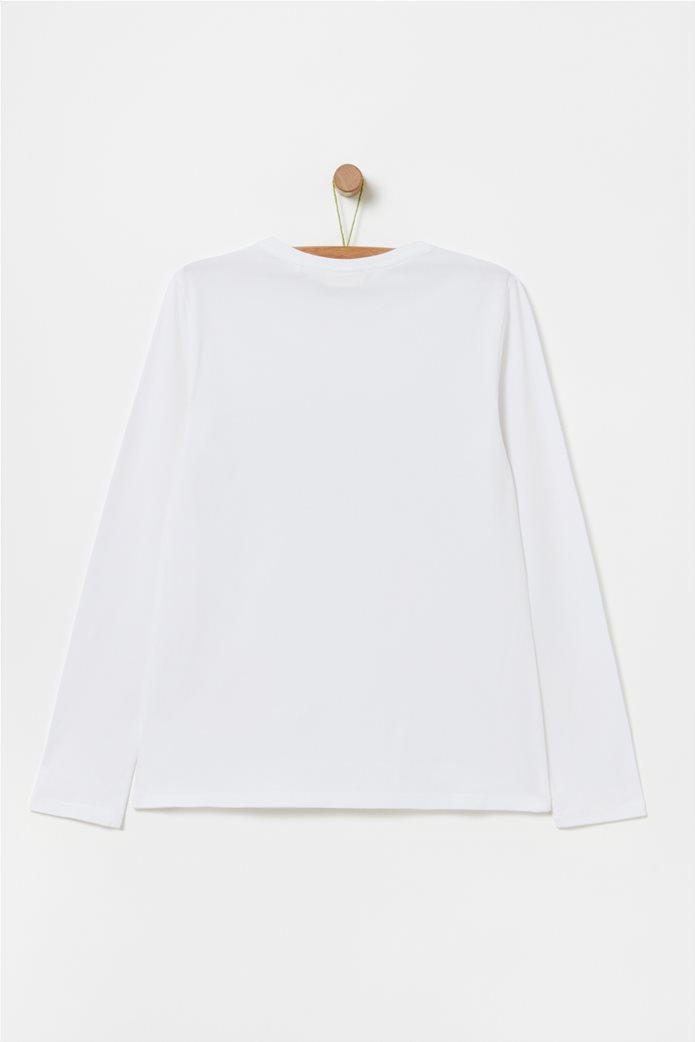 OVS παιδική μπλούζα με παγιέτες (10-15 ετών) Λευκό 1