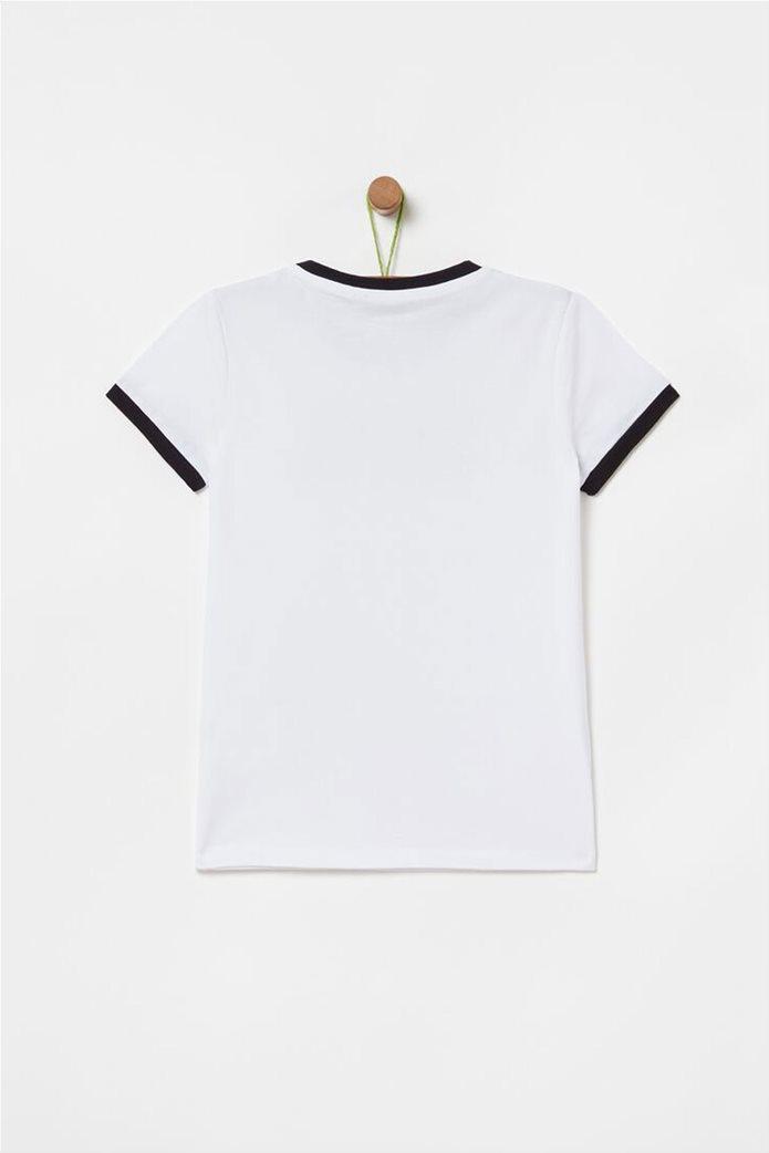 OVS παιδικό T-shirt με lettering  (10-15 ετών) 1