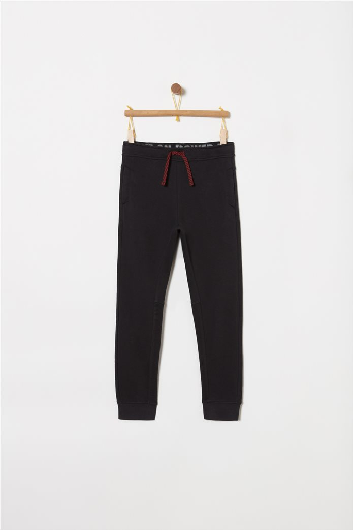 OVS παιδικό παντελόνι φόρμας μονόχρωμο μεκορδόνι 0