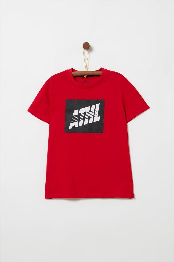 OVS παιδικό T-shirt με letter print Athl 0