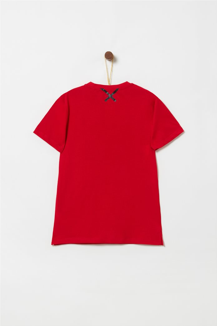 OVS παιδικό T-shirt με letter print Athl 1