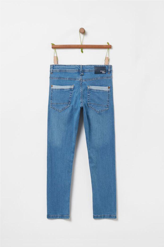OVS παιδικό τζην παντελόνι με φθορές  (10-15 ετών) 1