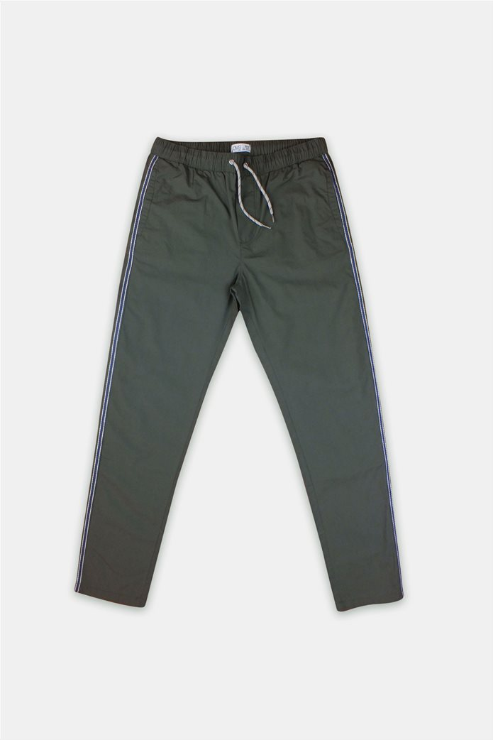 OVS παιδικό παντελόνι φόρμας με κορδόνια και ρίγα (10 -15 ετών) 0