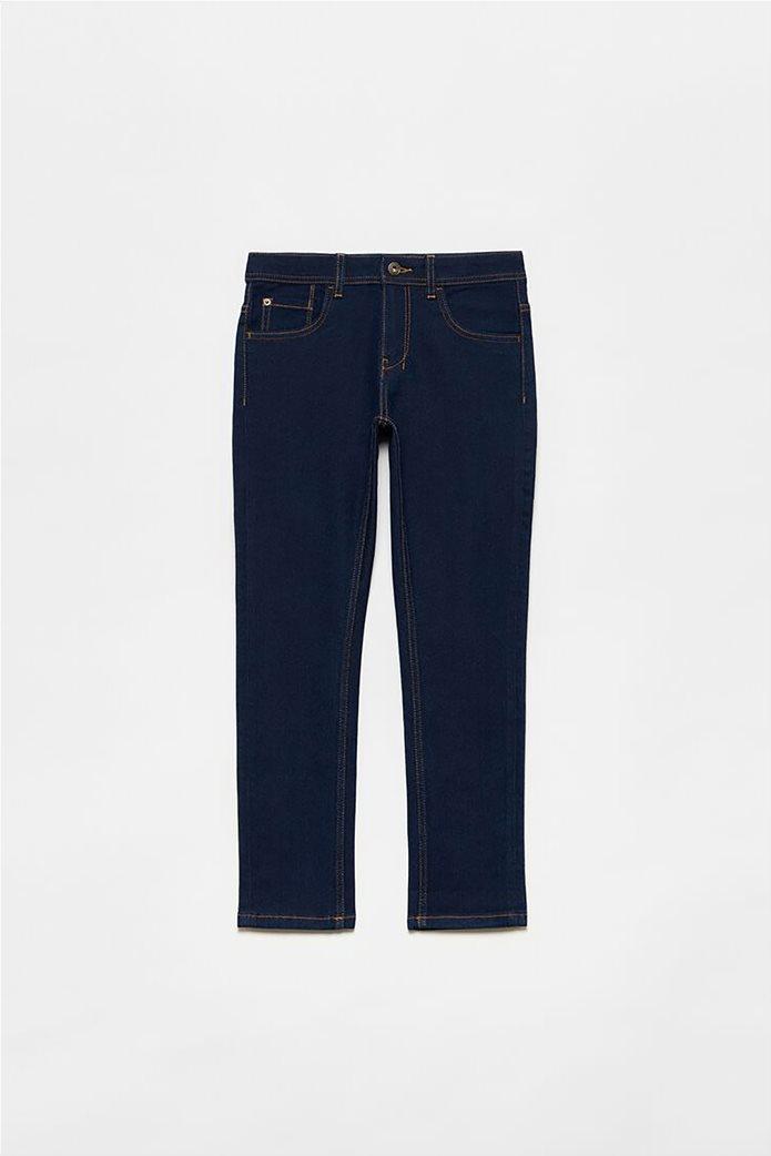 OVS παιδικό τζην παντελόνι πεντάτσεπο (10-15 ετών) Μπλε Σκούρο 0