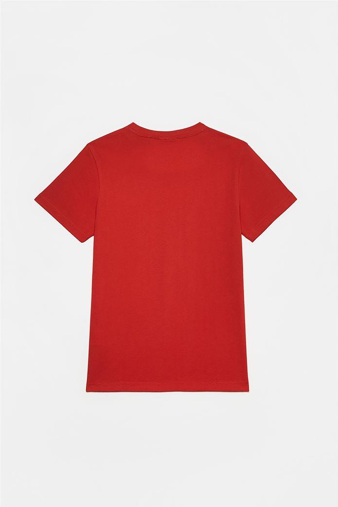 OVS παιδικό T-shirt με κεντημένο λογότυπο (10-15 ετών) Κόκκινο 1