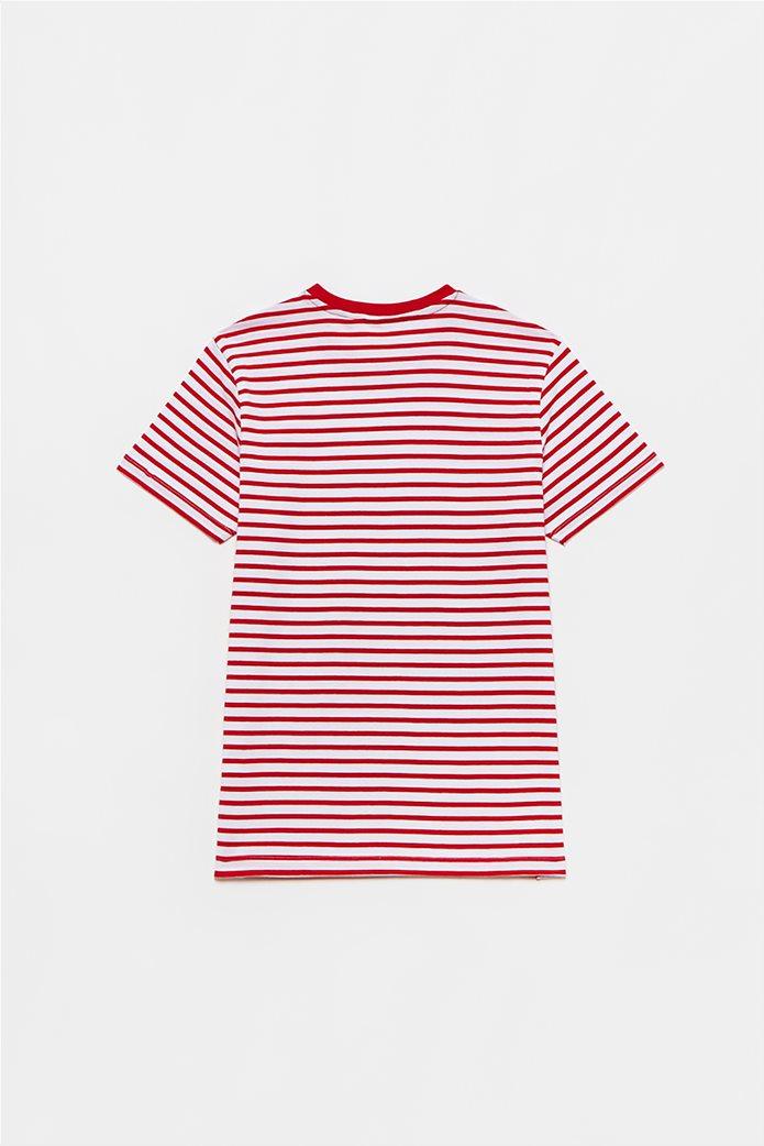 OVS παιδικό T-shirt ριγέ (10-15 ετών) Κόκκινο 1