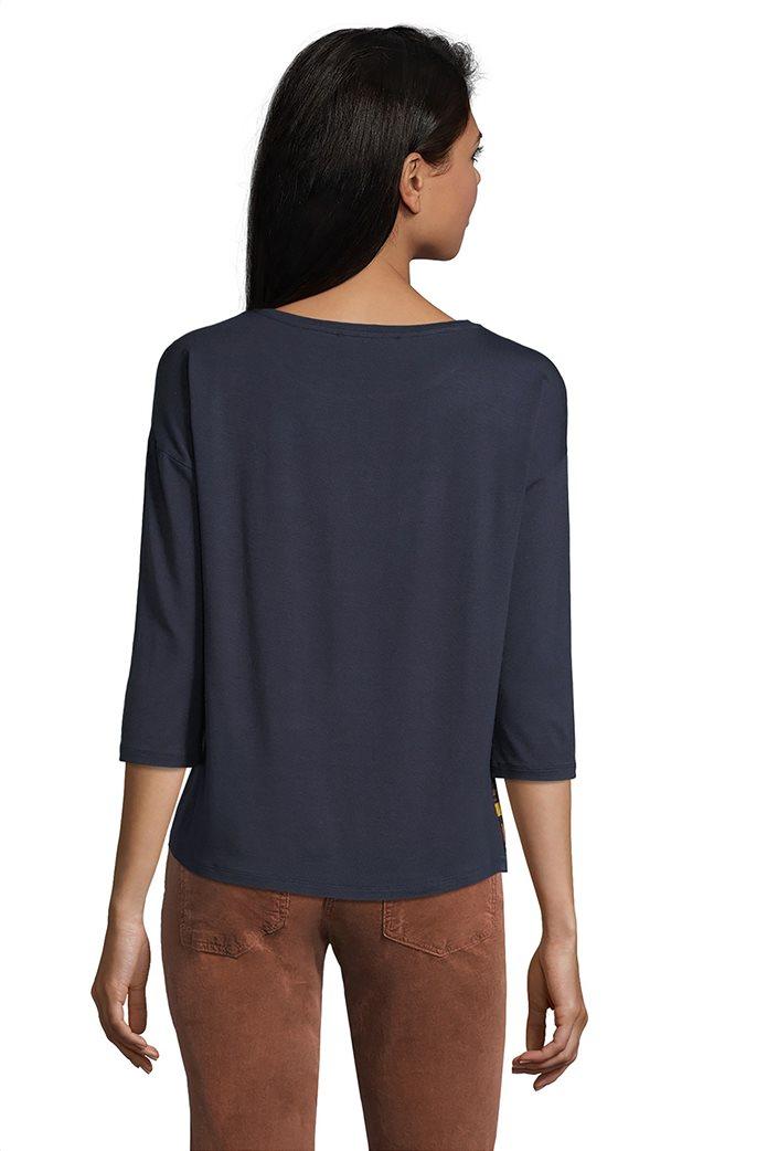 Betty Barclay γυναικεία μπλούζα με ρίγες και print λαχούρια 1
