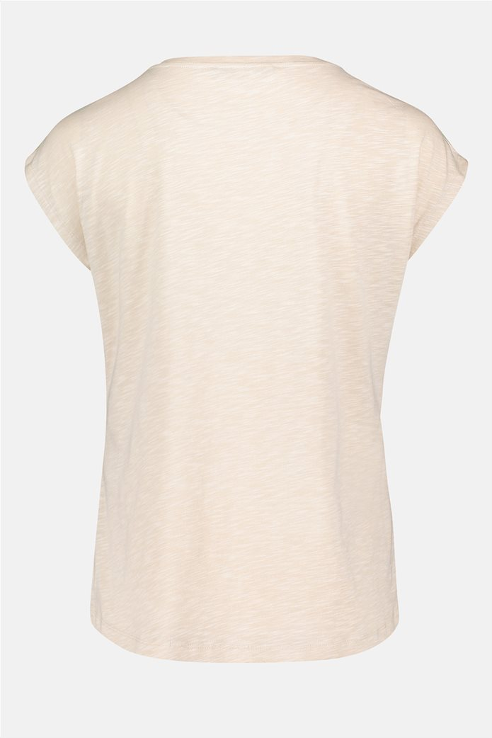 Betty Barclay γυναικεία μπλούζα με διακοσμητικά στρας και floral print 4