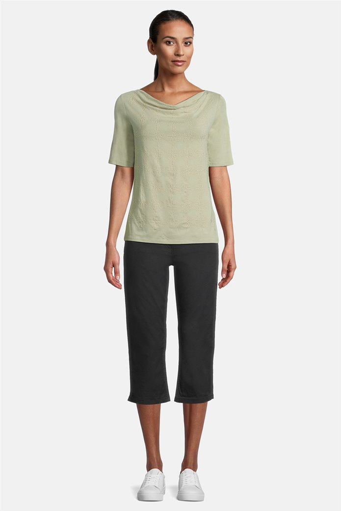 Betty Barclay γυναικεία μπλούζα με σχέδιο με στρας Πράσινο Ανοιχτό 1