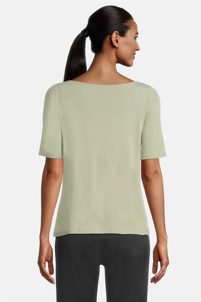 Betty Barclay γυναικεία μπλούζα με σχέδιο με στρας Πράσινο Ανοιχτό 2